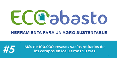 Más de 100.000 envases vacíos retirados de los campos en los últimos 90 días